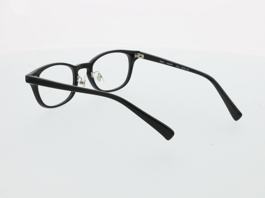 プラスオーエムジー ベース クロエ omg-028-1 [黒縁/ウェリントン/安い]  8