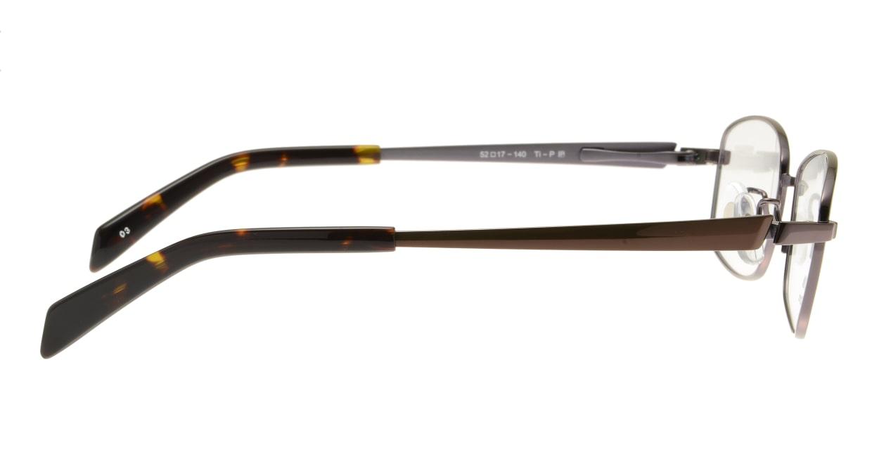 ランチェッティ LC-7009-03 [メタル/スクエア/茶色]  1