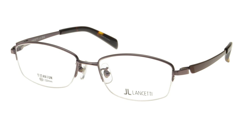 ランチェッティ LC-7010-03 [メタル/ハーフリム/スクエア/茶色]