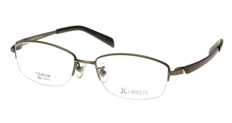 ランチェッティ LC-7010-04 [メタル/ハーフリム/スクエア/グレー]