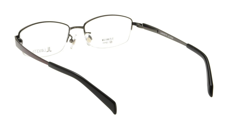 ランチェッティ LC-7010-04 [メタル/ハーフリム/スクエア/グレー]  2