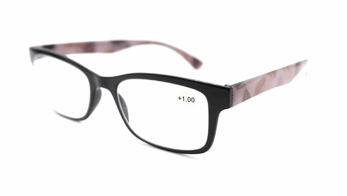レンテ LT-4202-1 +1.00 [黒縁/ウェリントン/安い]  1