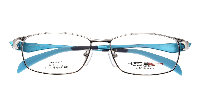 スペシャライズ SPE-8338-1-54 [メタル/鯖江産/スクエア/シルバー]  3
