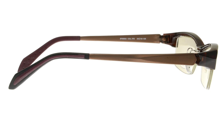 フィラ SF8936J-7FE [ハーフリム/スクエア/安い]  1