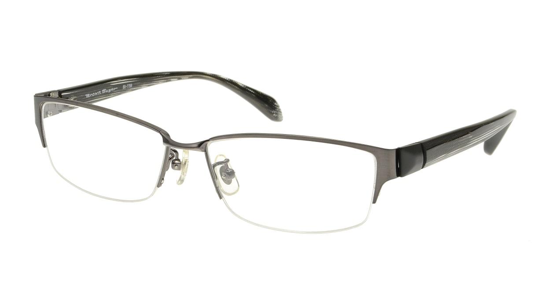 ブラウンシュガー BS-7759-3-56 [メタル/ハーフリム/スクエア/グレー]