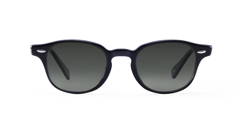 TYPE American Typewriter Light-Black Sunglasses [鯖江産/ボストン]