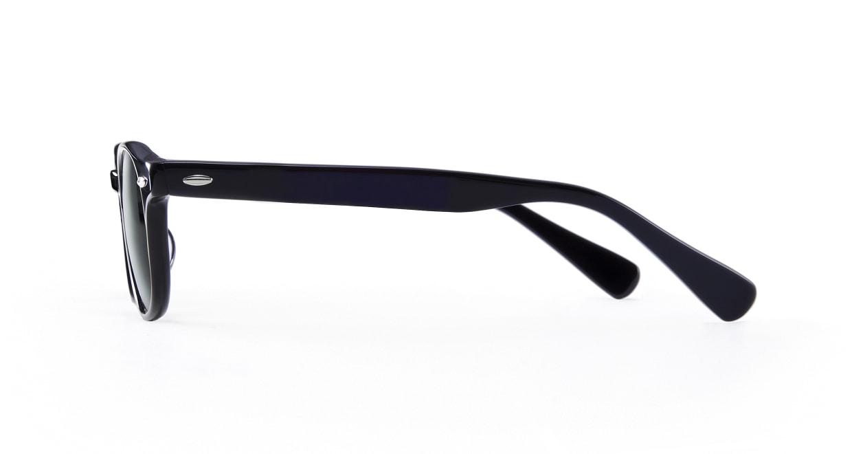 TYPE American Typewriter Light-Black Sunglasses [鯖江産/ボストン]  2