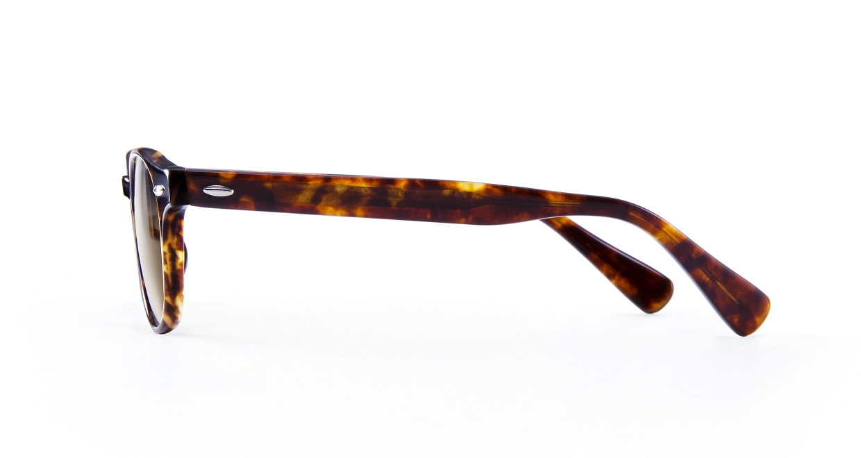 TYPE American Typewriter Light-Tortoise Sunglasses [鯖江産/ボストン]  2