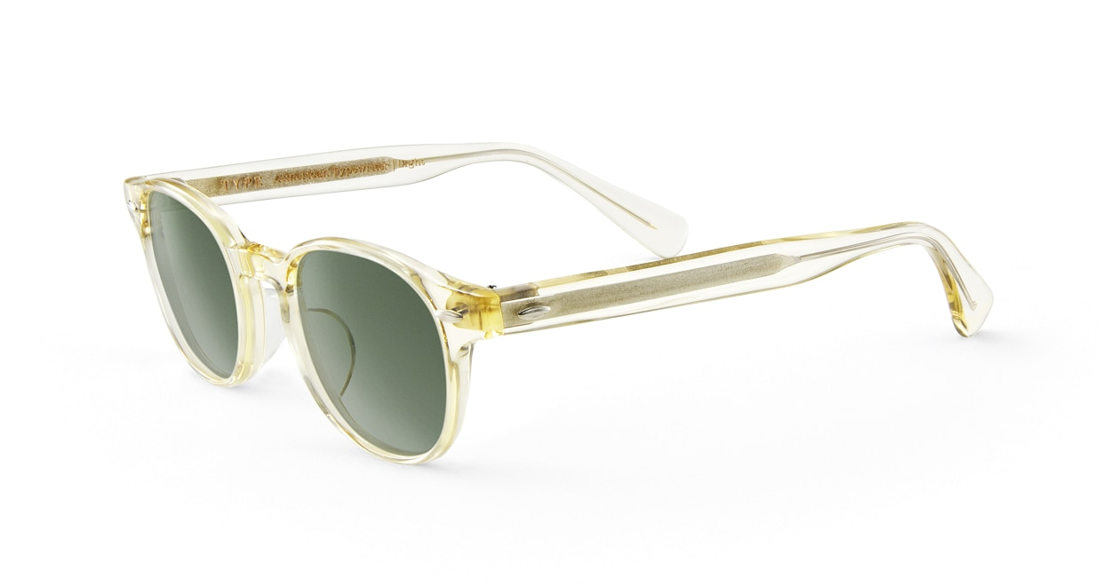 TYPE American Typewriter Light-Clear Sunglasses [鯖江産/ボストン]  1