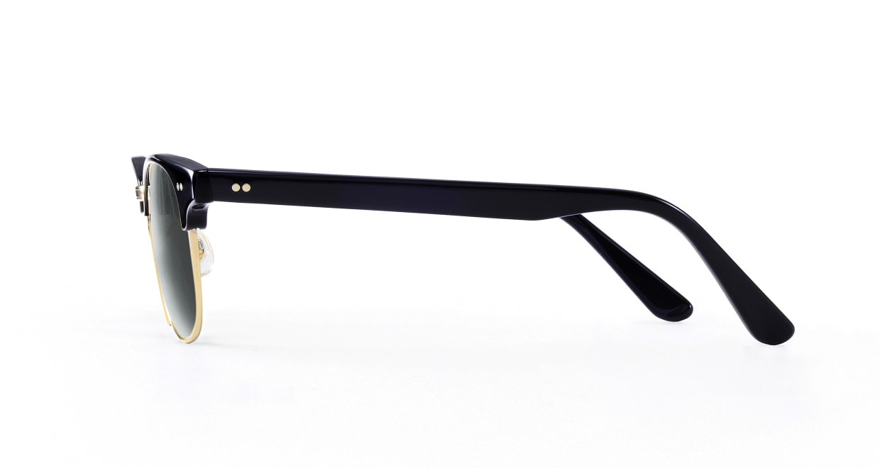 TYPE Times New Roman Light-Black Sunglasses [鯖江産/ウェリントン]  2