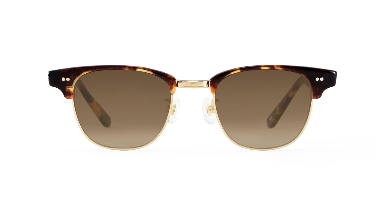 TYPE Times New Roman Light-Tortoise Sunglasses [鯖江産/ウェリントン]