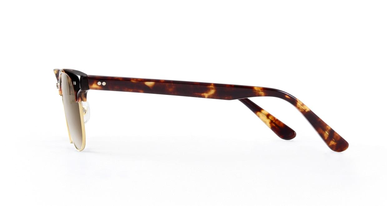 TYPE Times New Roman Light-Tortoise Sunglasses [鯖江産/ウェリントン]  2