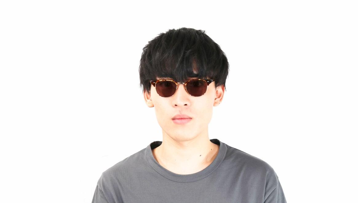 TYPE Times New Roman Light-Tortoise Sunglasses [鯖江産/ウェリントン]  4