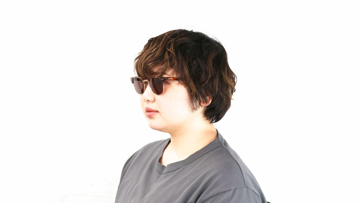 TYPE Times New Roman Light-Tortoise Sunglasses [鯖江産/ウェリントン]  7