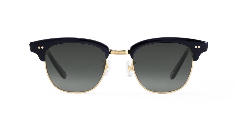 TYPE Times New Roman Bold-Black Sunglasses [鯖江産/ウェリントン]