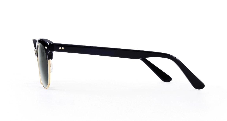 TYPE Times New Roman Bold-Black Sunglasses [鯖江産/ウェリントン]  2