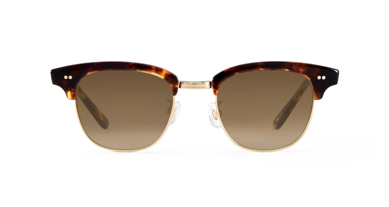 TYPE Times New Roman Bold-Tortoise Sunglasses [鯖江産/ウェリントン]