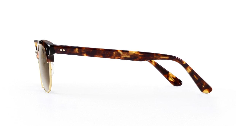 TYPE Times New Roman Bold-Tortoise Sunglasses [鯖江産/ウェリントン]  2