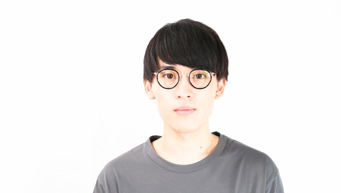 TYPE Bodoni Light-Black [黒縁/鯖江産/丸メガネ]  4