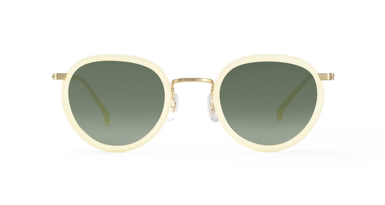 TYPE Bodoni Regular-Clear Sunglasses [鯖江産/ボストン]
