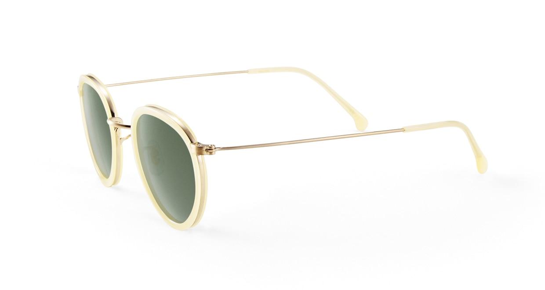 TYPE Bodoni Regular-Clear Sunglasses [鯖江産/ボストン]  1