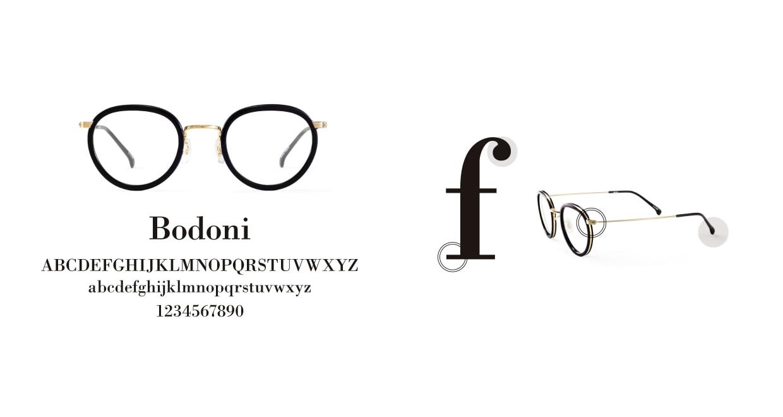 TYPE Bodoni Regular-Clear Sunglasses [鯖江産/ボストン]  3