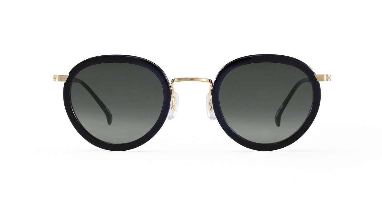 TYPE Bodoni Bold-Black Sunglasses [鯖江産/ボストン]