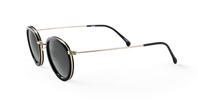 TYPE Bodoni Bold-Black Sunglasses [鯖江産/ボストン]  1