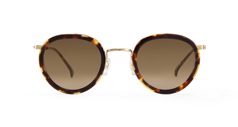 TYPE Bodoni Bold-Tortoise Sunglasses [鯖江産/ボストン]