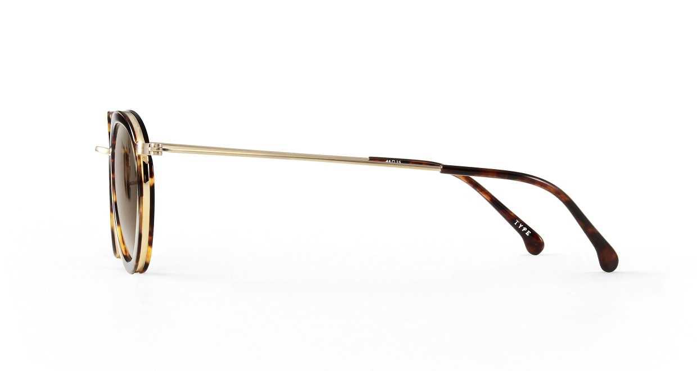 TYPE Bodoni Bold-Tortoise Sunglasses [鯖江産/ボストン]  2
