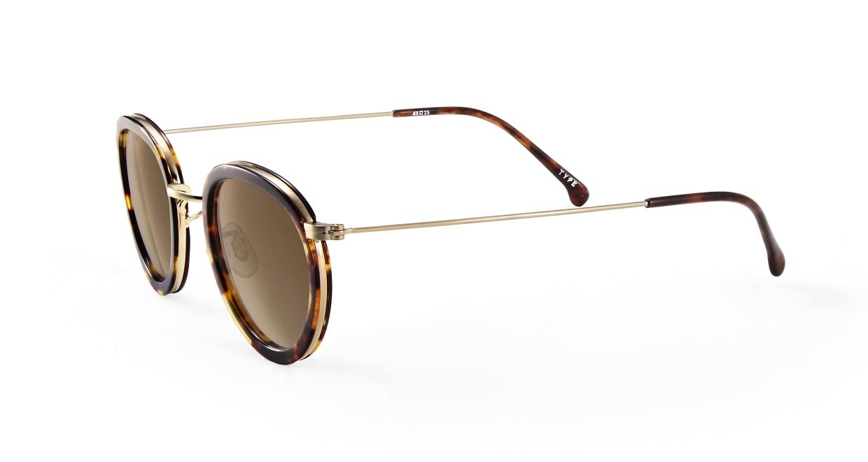 TYPE Bodoni Bold-Tortoise Sunglasses [鯖江産/ボストン]  1