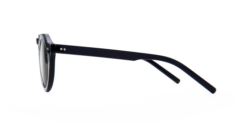 TYPE Serif Gothic Bold-Black Sunglasses [鯖江産/ラウンド]  2