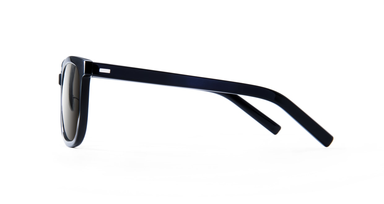 TYPE Eurostile Light-Black Sunglasses [鯖江産/スクエア]  2