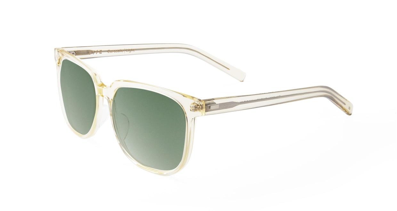 TYPE Eurostile Light-Clear Sunglasses [鯖江産/スクエア]  1
