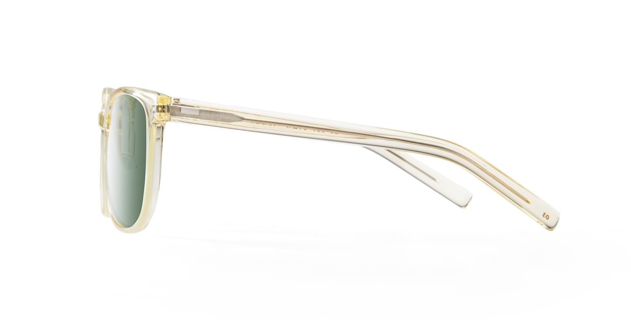TYPE Eurostile Light-Clear Sunglasses [鯖江産/スクエア]  2