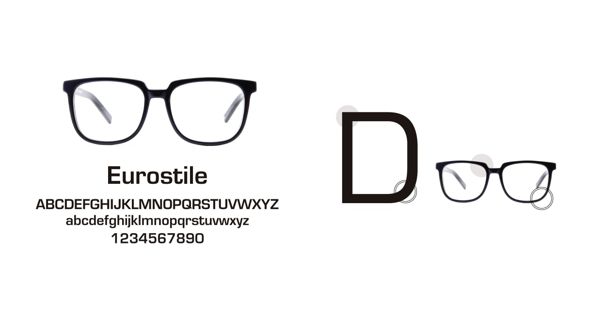 TYPE Eurostile Light-Clear Sunglasses [鯖江産/スクエア]  3