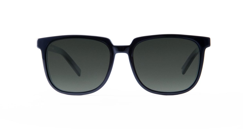TYPE Eurostile Regular-Black Sunglasses [鯖江産/スクエア]