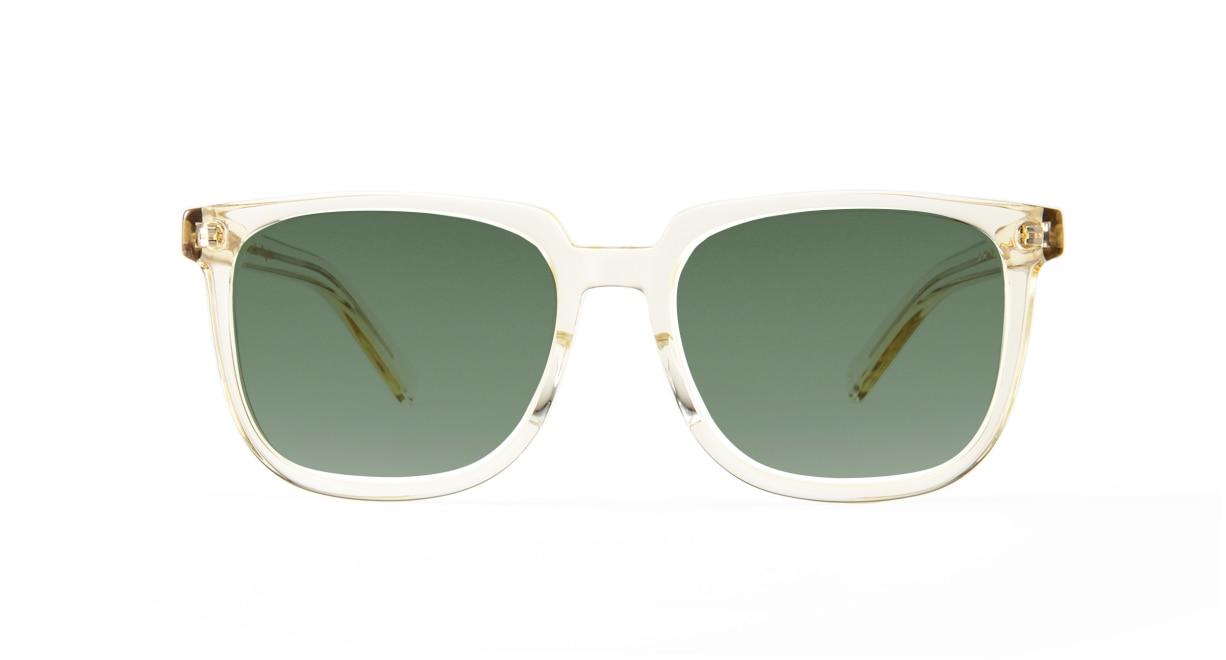 TYPE Eurostile Regular-Clear Sunglasses [鯖江産/スクエア]