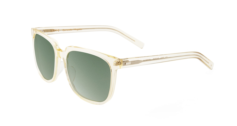 TYPE Eurostile Regular-Clear Sunglasses [鯖江産/スクエア]  1