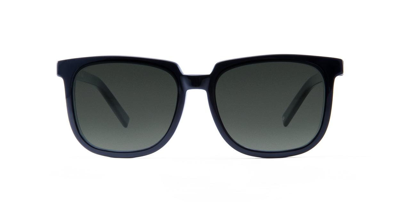 TYPE Eurostile Bold-Black Sunglasses [鯖江産/スクエア]