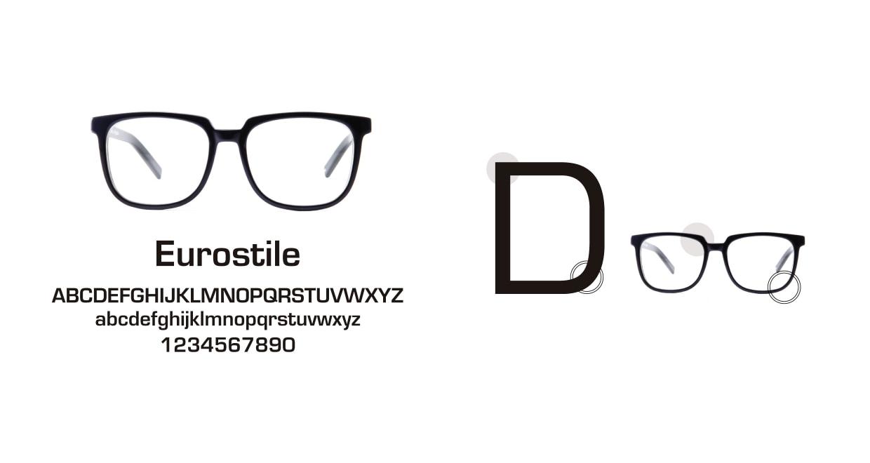 TYPE Eurostile Bold-Black Sunglasses [鯖江産/スクエア]  3