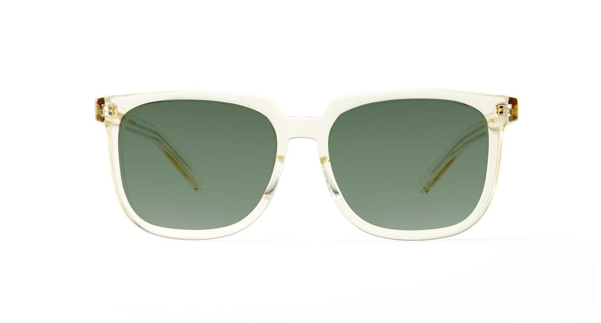 TYPE Eurostile Bold-Clear Sunglasses [鯖江産/スクエア]