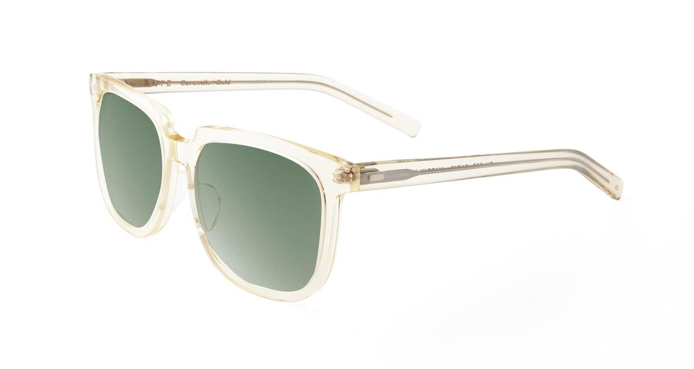 TYPE Eurostile Bold-Clear Sunglasses [鯖江産/スクエア]  1