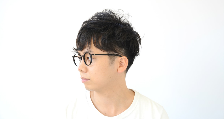 TYPE Optima Light-Black [黒縁/鯖江産/丸メガネ]  5