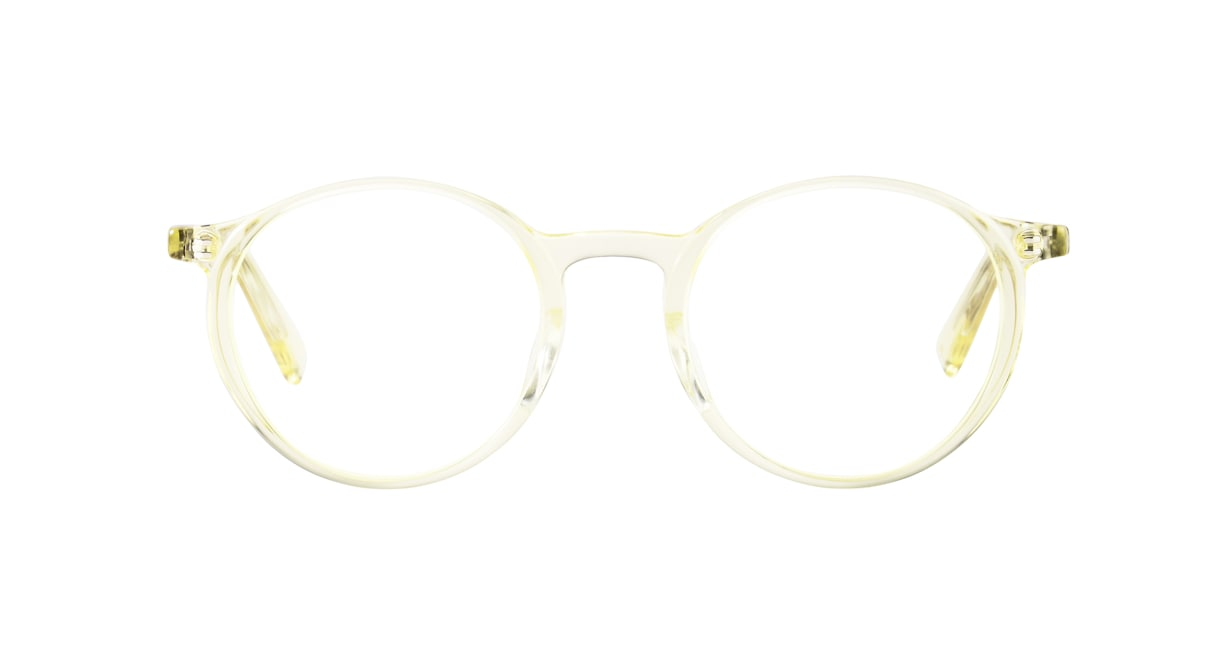 TYPE Optima Light-Clear [鯖江産/丸メガネ/透明]