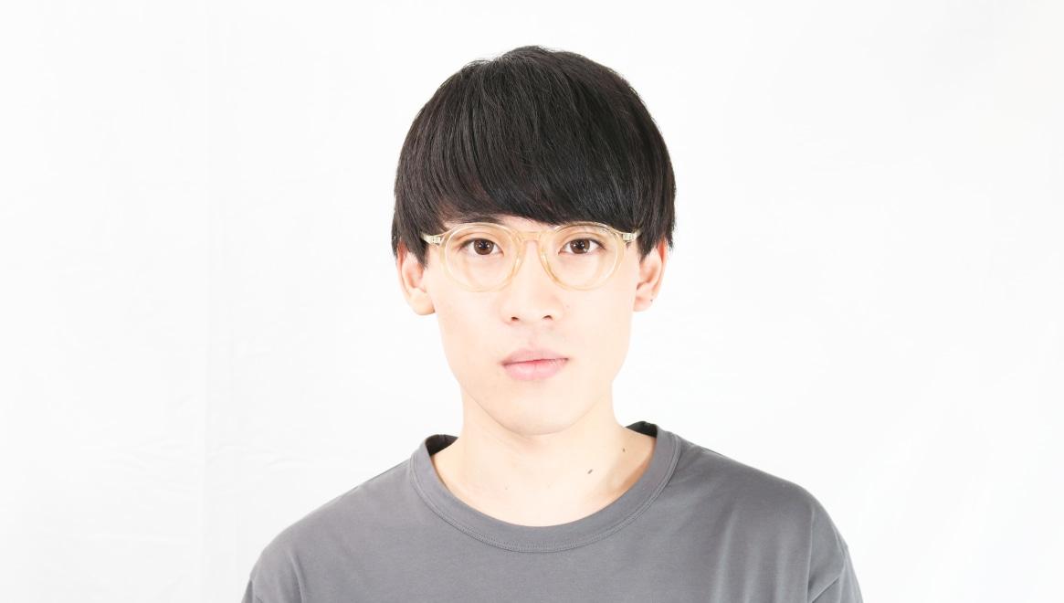 TYPE Optima Regular-Clear [鯖江産/丸メガネ/透明]  4