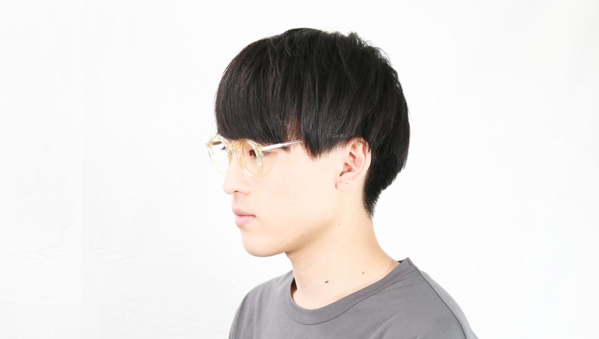 TYPE Optima Regular-Clear [鯖江産/丸メガネ/透明]  5