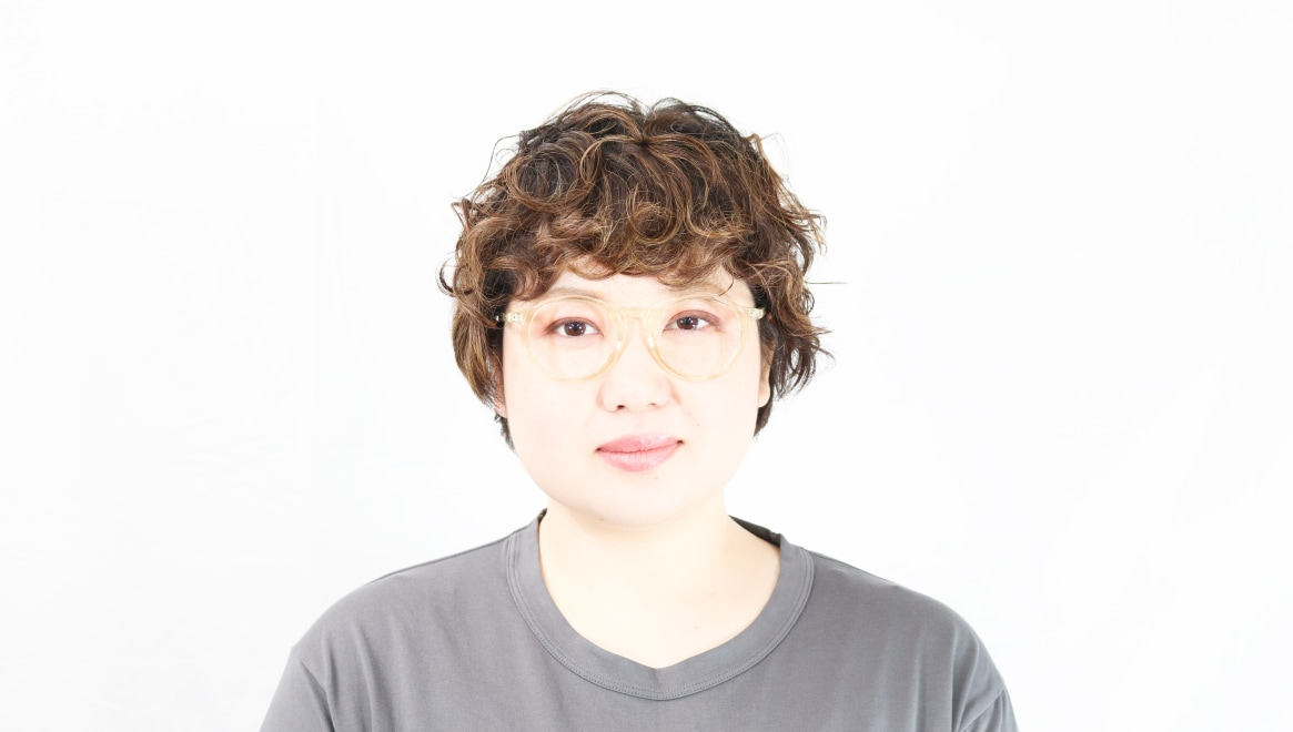 TYPE Optima Regular-Clear [鯖江産/丸メガネ/透明]  6