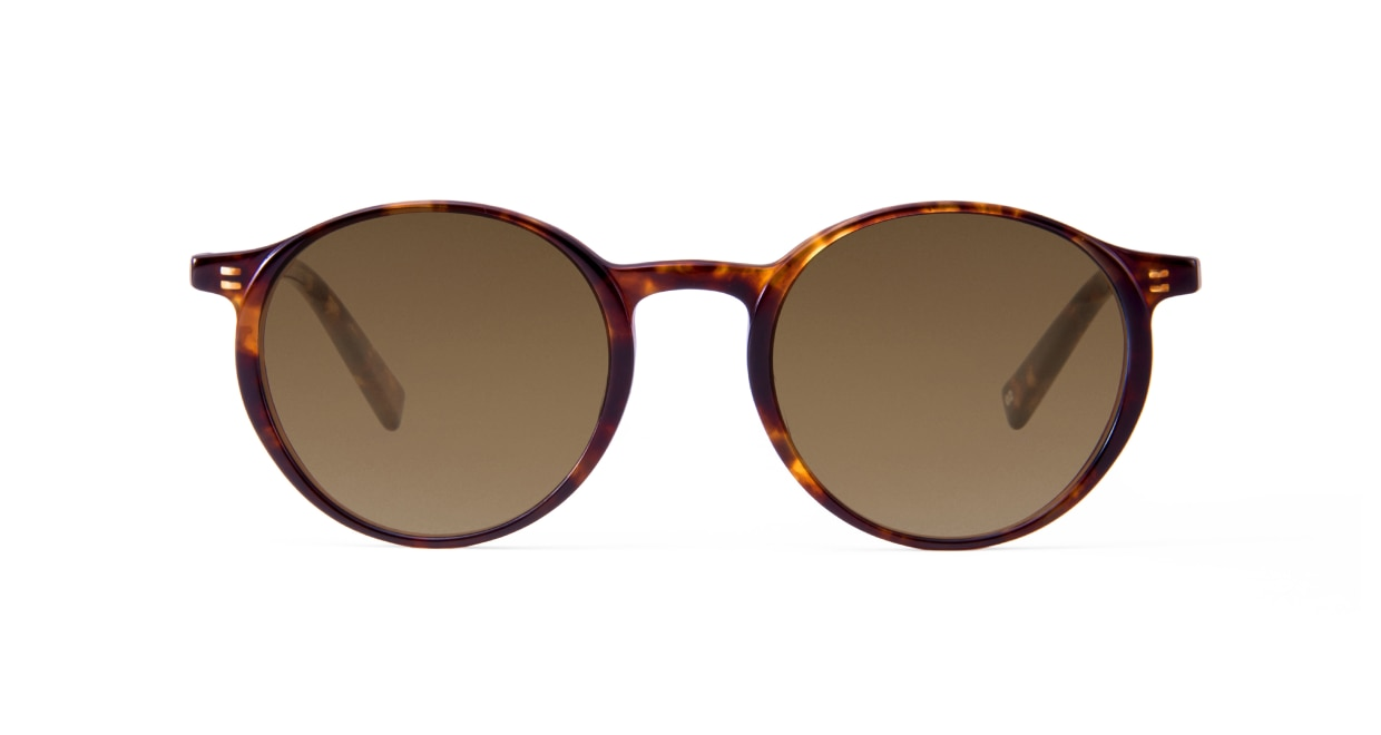 TYPE Optima Light-Tortoise Sunglasses [鯖江産/ラウンド]