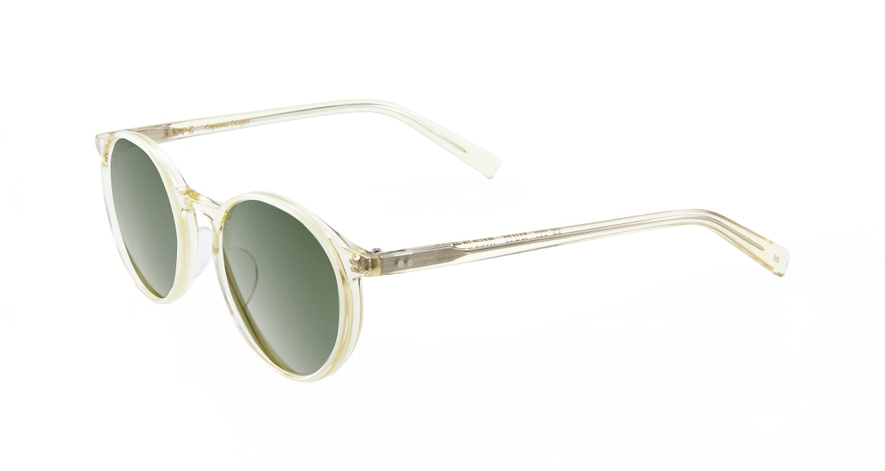 TYPE Optima Light-Clear Sunglasses [鯖江産/ラウンド]  1